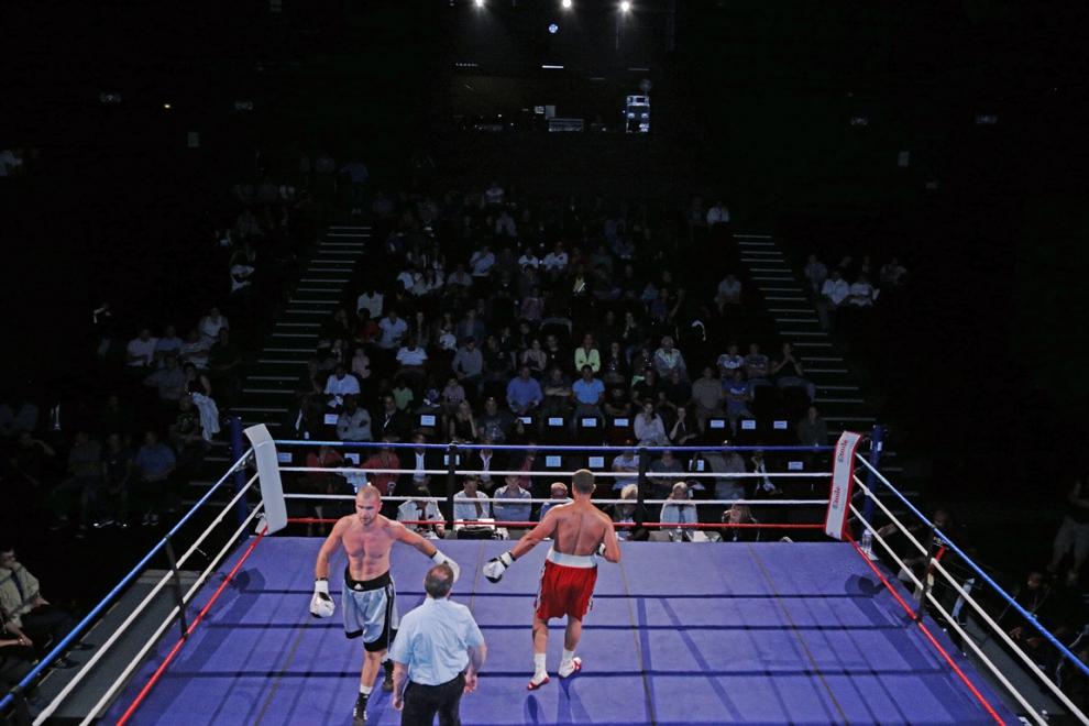 Boxe en scène