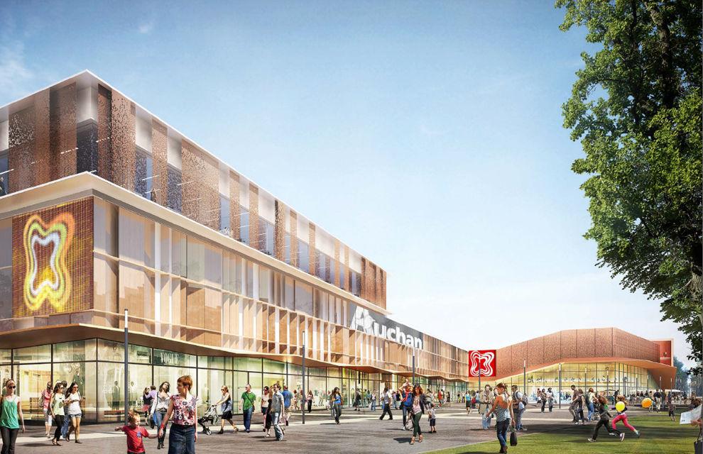 Centre commercial des 3 Fontaines rénové