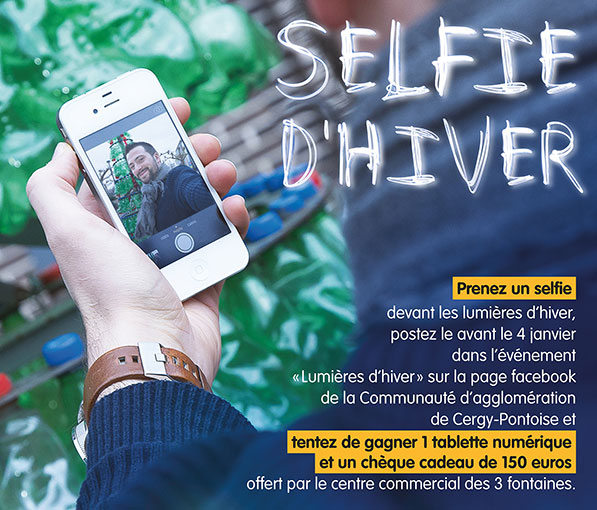 Concours Facebook Selfies d'hiver