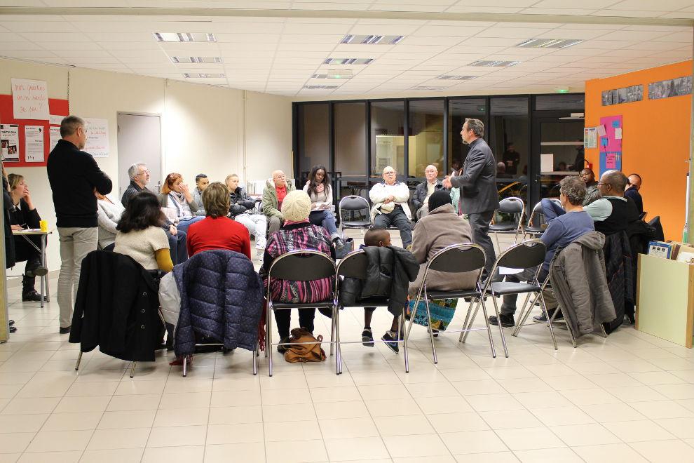 Réunion publique sur le théâtre forum à Eragny