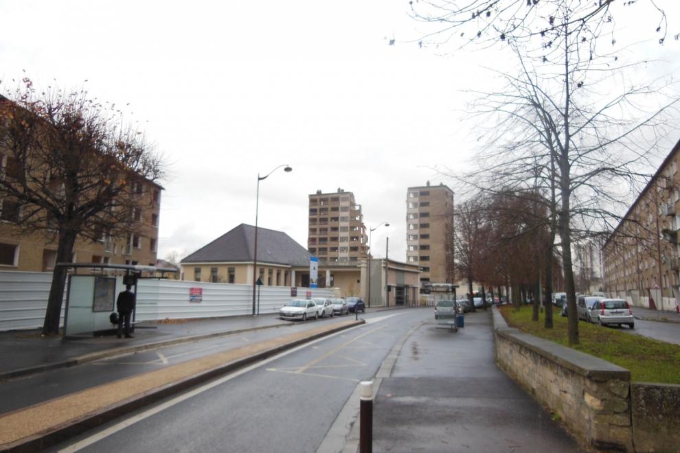 Démolition d'une barre avenue de Verdun © CACP
