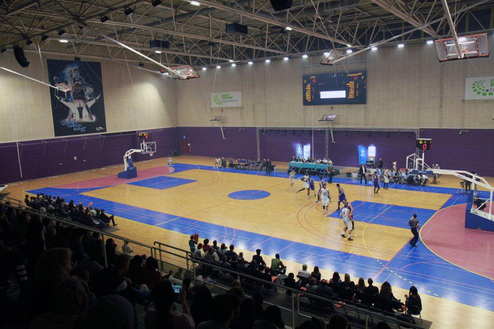 La grande salle des sports du complexe des Maradas