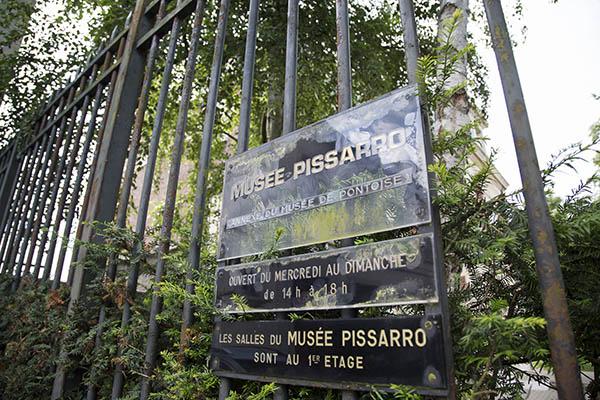 Entrée du musée Pissarro