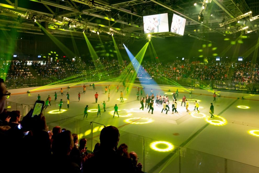 Inauguration Aren'Ice © Dominique Chauvin