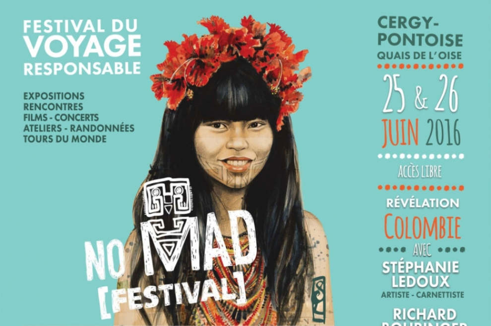 Affiche No Mad Festival 2016 © CACP