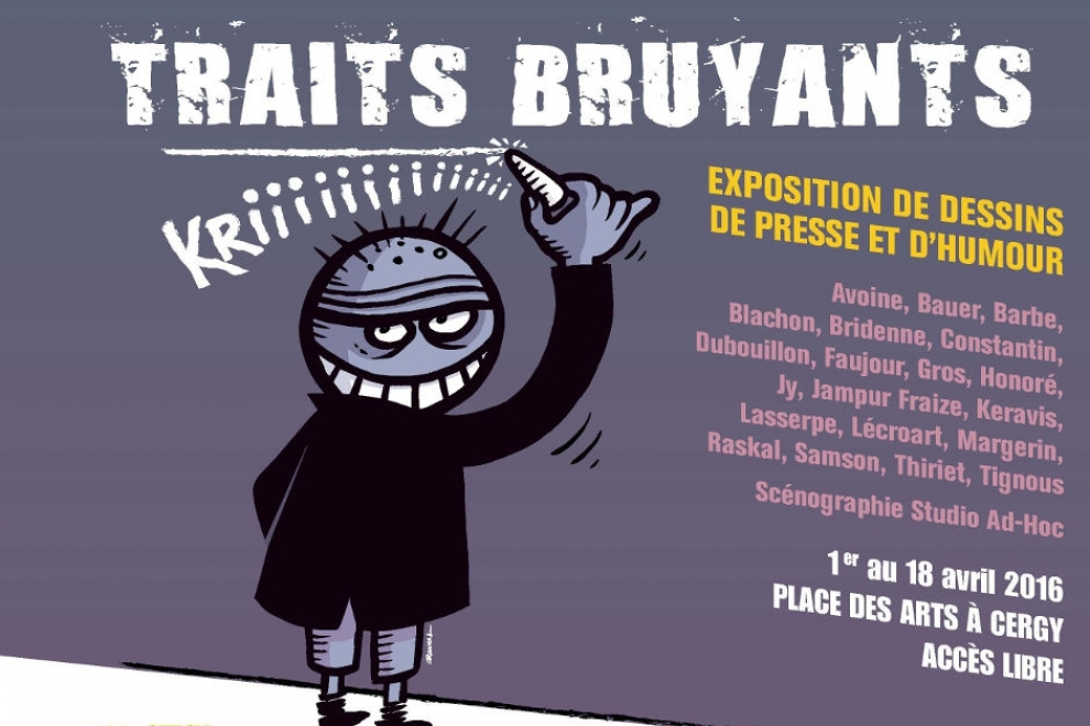 Exposition Traits Bruyants © CACP