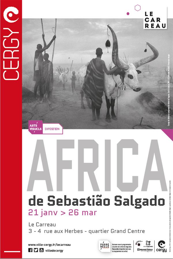 Africa Carreau Cergy Pontoise Sébastiao Salgado