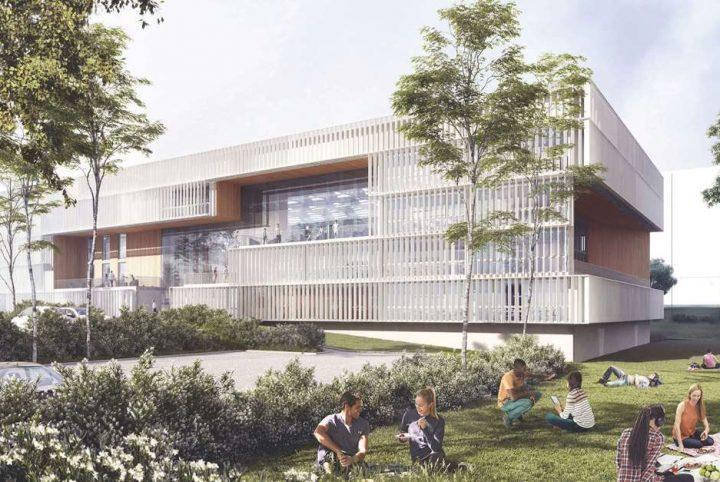Le futur campus d itescia pontoise 13 comme une - Chambre de commerce pontoise ...