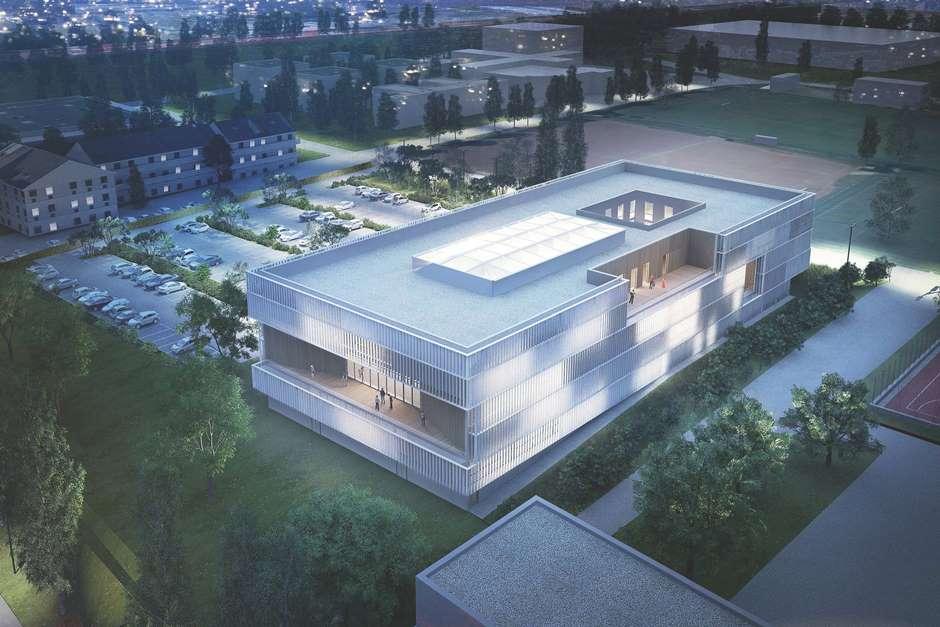 La futur bâtiment d'ITESCIA à Pontoise