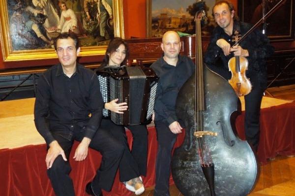 Le quatuor de Gilles Apap