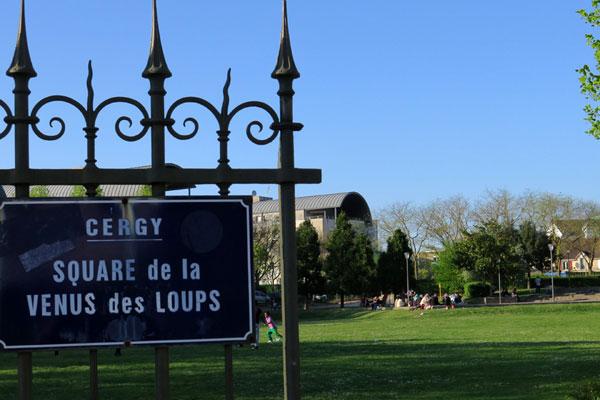 Square de la Vénus aux loups Cergy-Pontoise