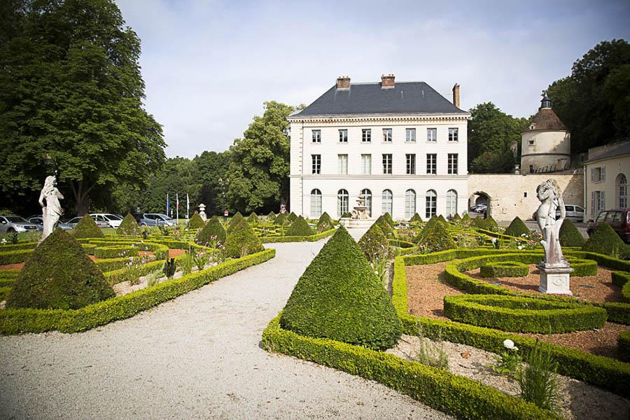 Le château de Grouchy à Osny