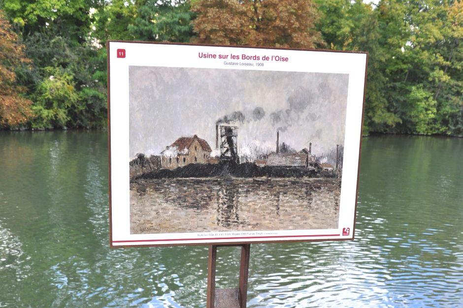 Parcours des Impressionnistes à Saint-Ouen l'Aumône