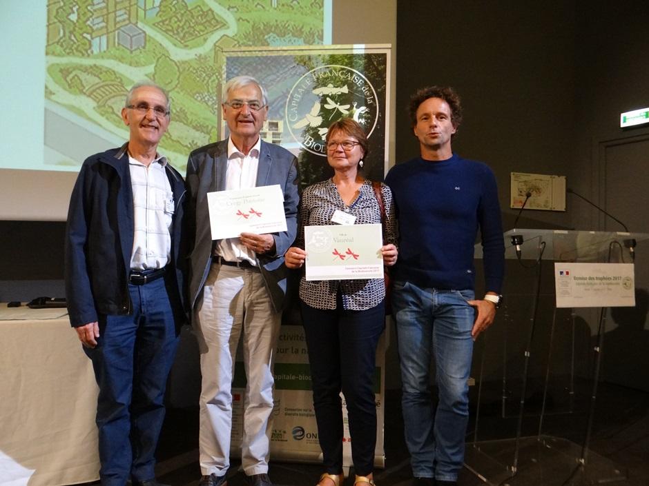 2 libellules pour Cergy-Pontoise capitale de la biodiversité