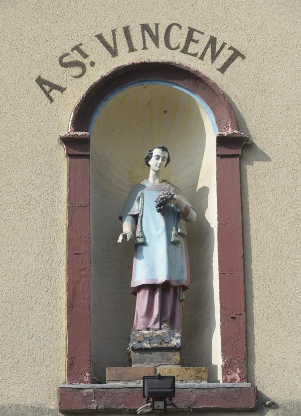 saint vincent vigne Jouy-le-Moutier