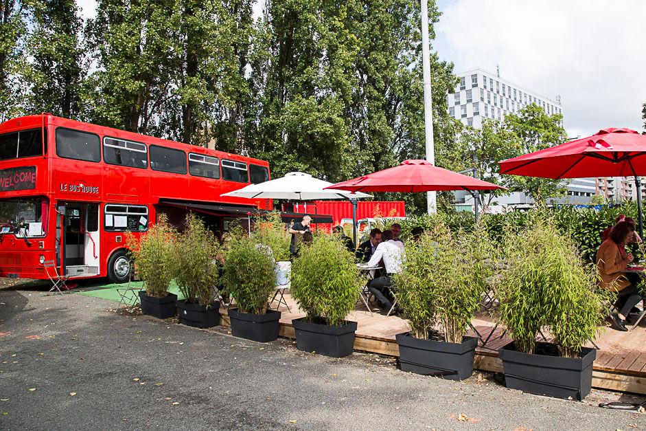 Le Bus rouge Cergy-Pontoise