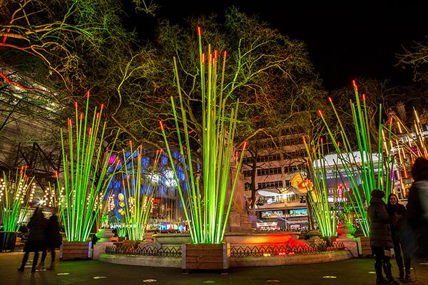 Les herbums vont bientôt illuminer la Grand'Place à Cergy-Pontoise