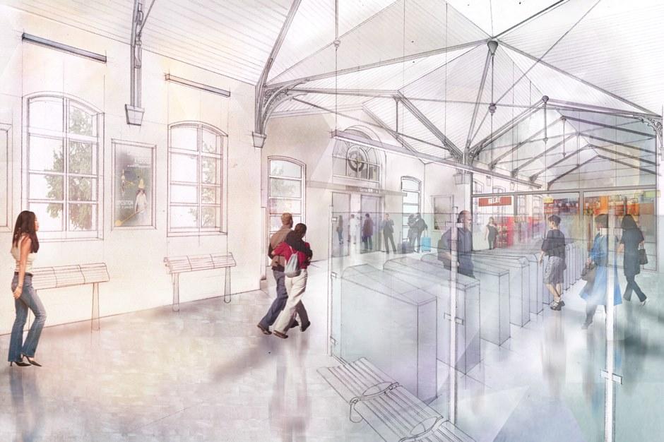 Gare de Pontoise rénovée