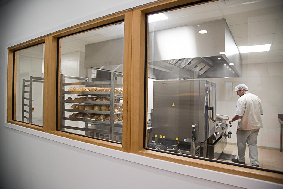La cuisine d'insertion de la nouvelle résidence sociale L'Enesemble