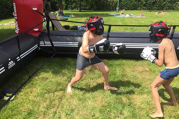 boxe pédagogique, piscine, cergy-pontoise