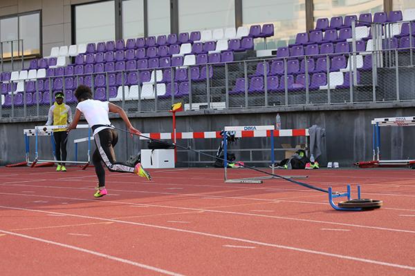 entraînement, athlétisme, EACPA, Cergy-pontoise