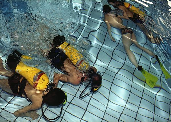 plongée, piscine, cergy-pontoise