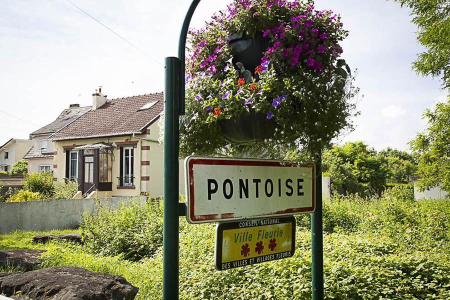 panneau entrée de ville