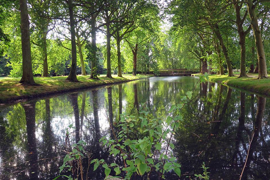 Le parc de l'abbaye de Maubuisson à Saint-Ouen l'Aumône Cergy-Pontoise
