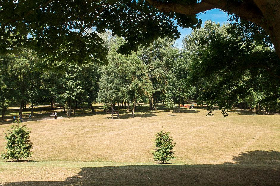 Le parc des Larris à Pontoise