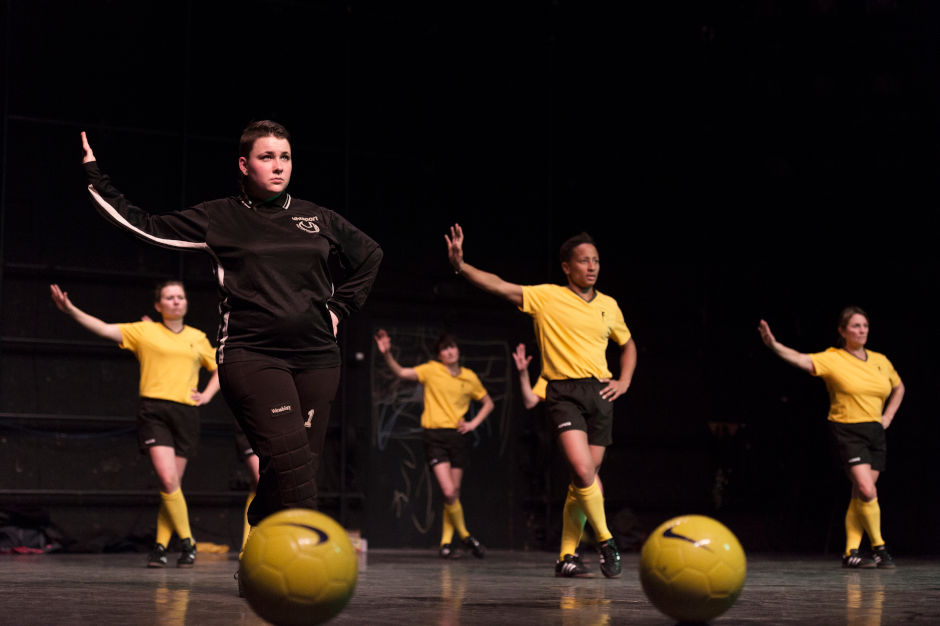 Spectacle Footballeuses
