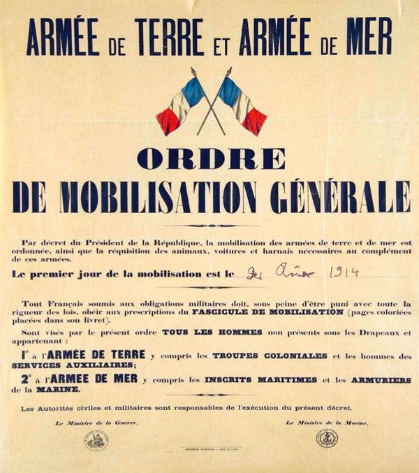 1914 1918 Pontoise