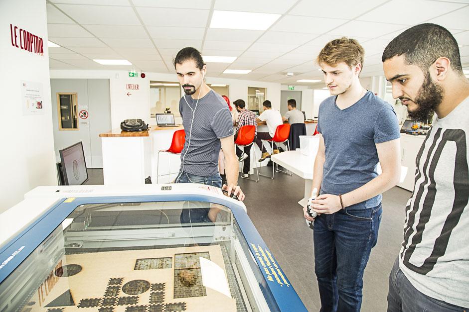 Le Fab Lab Labboite à Cergy-Pontoise