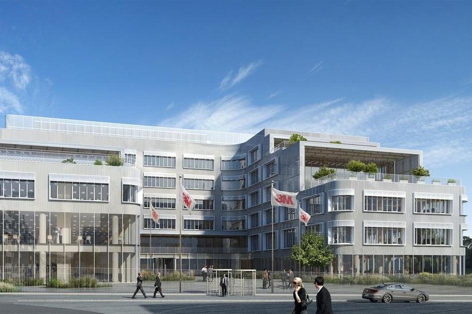 Le futur siège de 3M France à Cergy-Pontoise