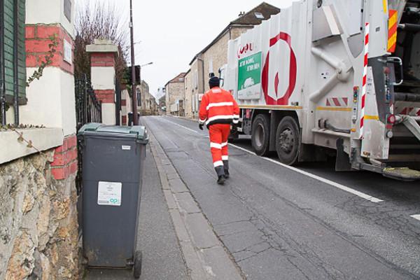 Collecte déchets en bacs