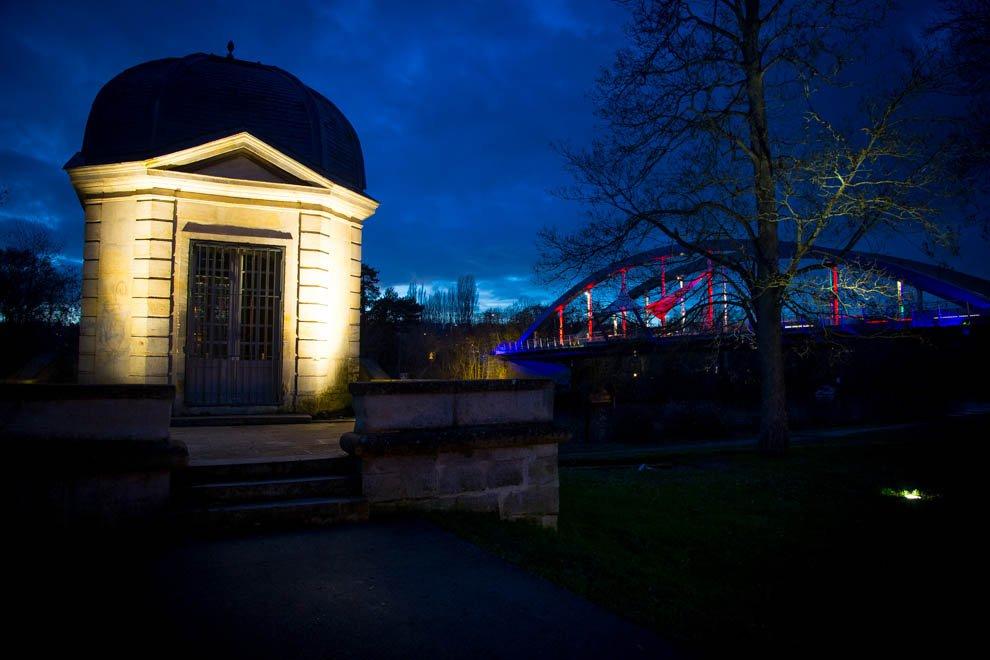 Mise en lumière du patrimoine à Neuville