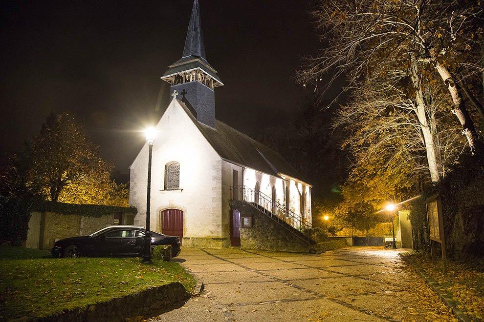 Mise en lumière du patrimoine à Boisemont © CACP LD