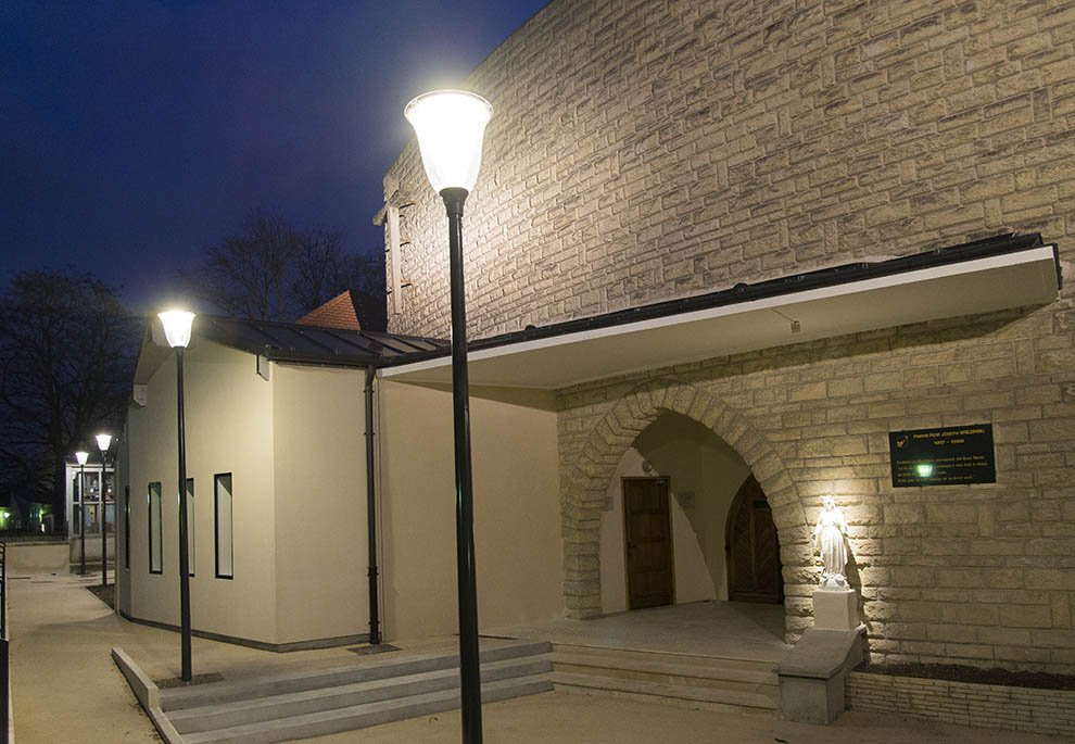 Mise en lumière du patrimoine à Eragny © CACP LD