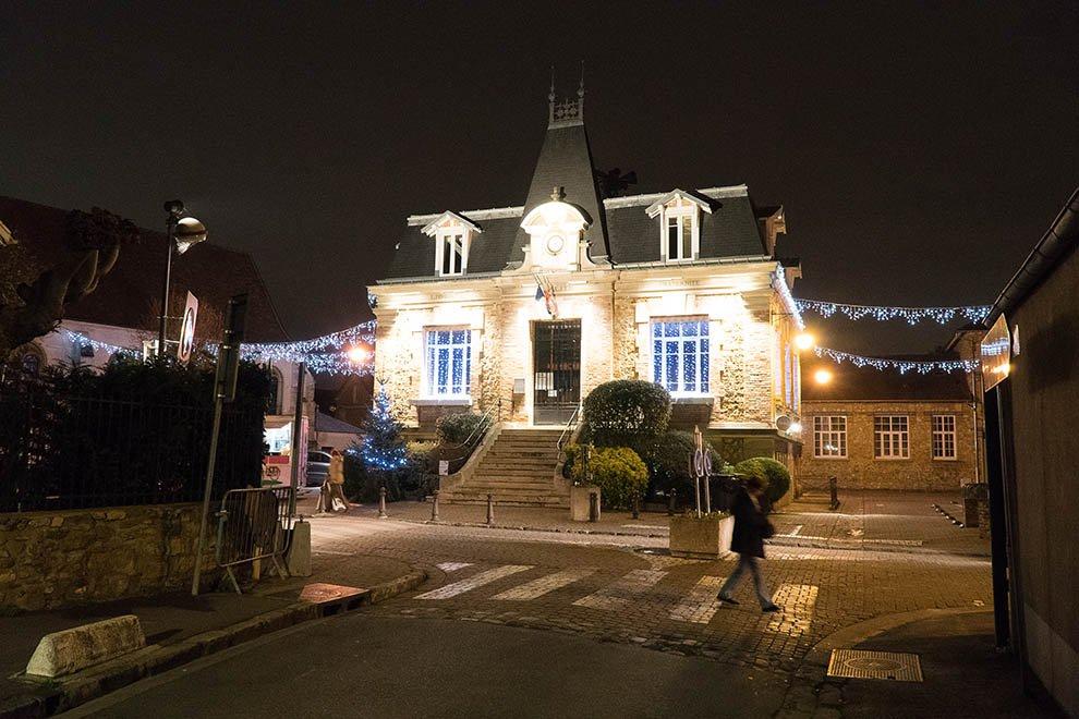 Mise en lumière du patrimoine à Maurecourt © CACP LD