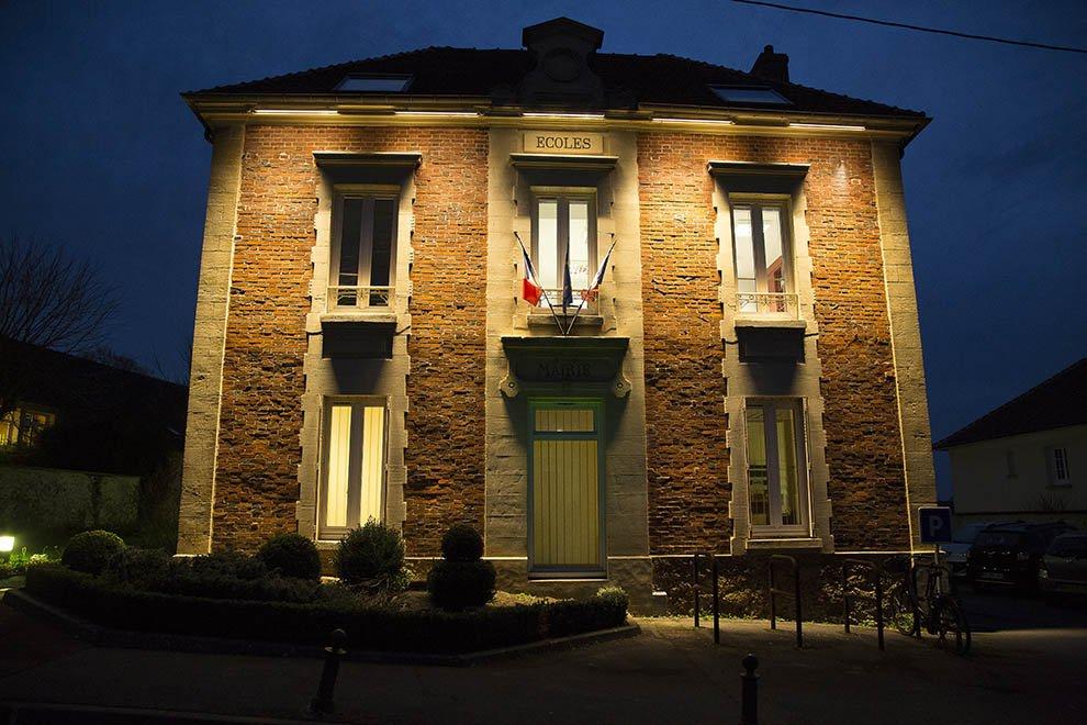 Mise en lumière du patrimoine à Menucourt © CACP LD
