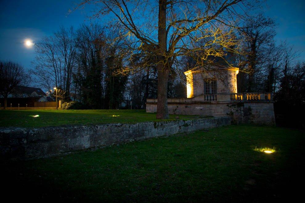 Mise en lumière du patrimoine à Neuville © CACP LD