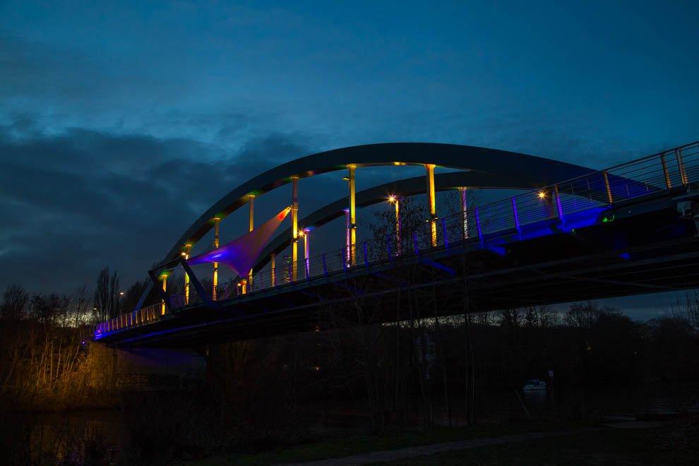 Mise en lumière du patrimoine à Neuville / Jouy-le-Moutier © CACP LD