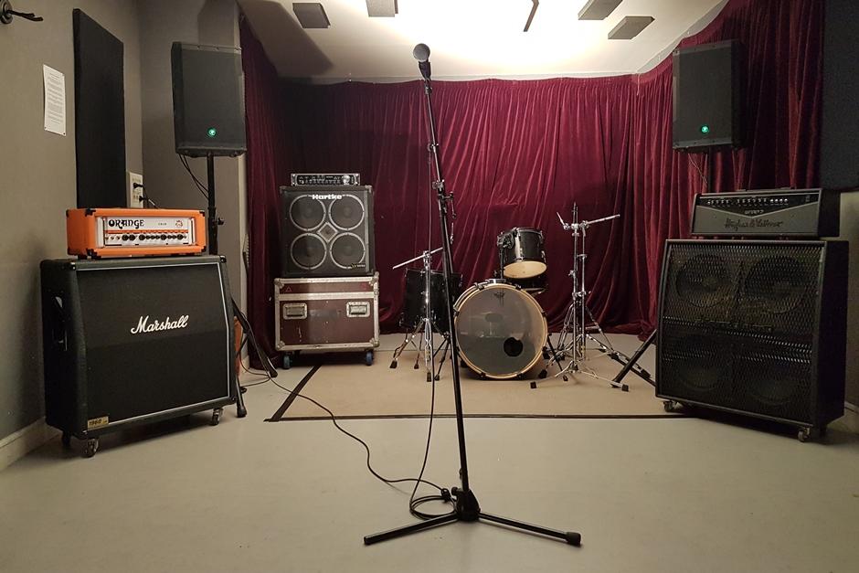 Un studio de répétition au Forum de Vauréal