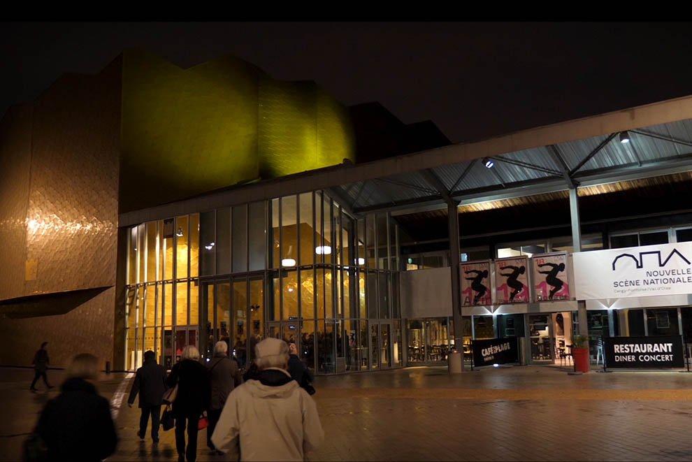 Mise en lumière du patrimoine au Théâtre 95 © CACP LD