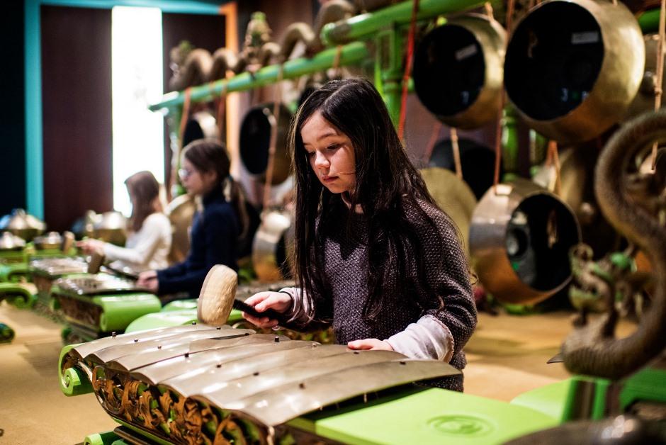 Atelier de gamelan