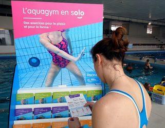 Accéder à Aquagym et natation en solo : la piscine à votre guise !