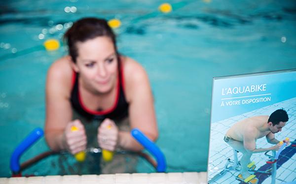 piscine, cergy-pontoise, parvis, aquagym en solo,