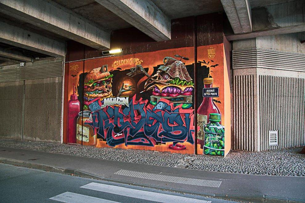 Fresque Grand Centre 18