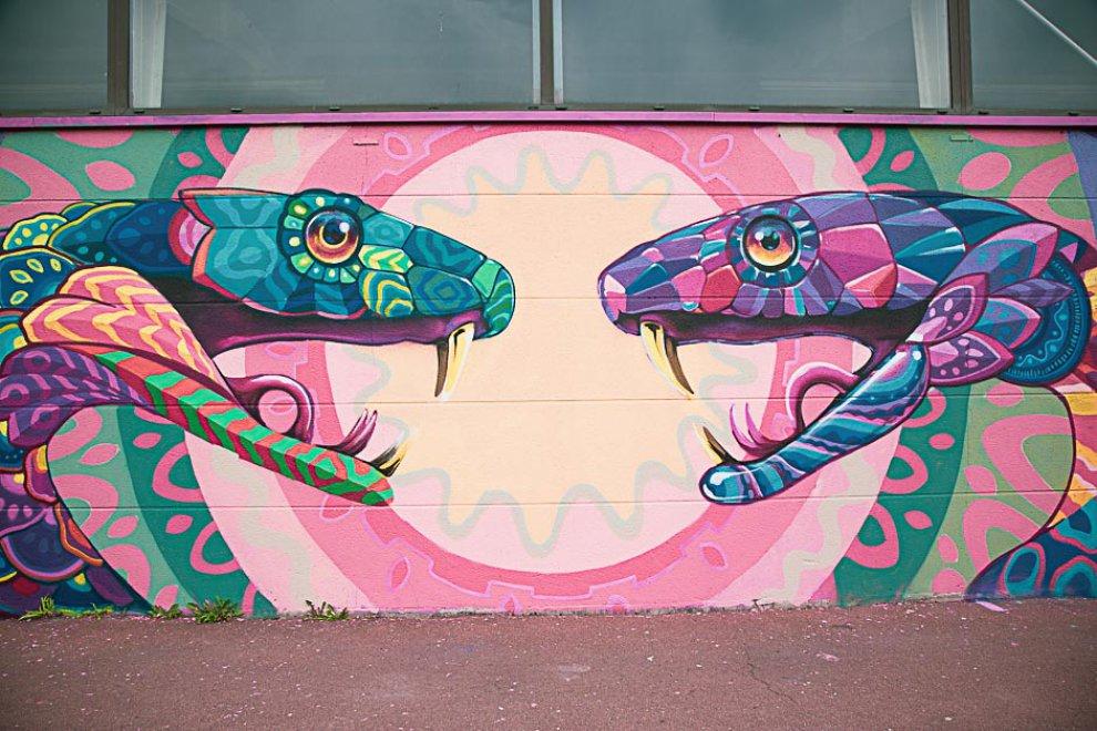 Fresque Grand Centre 9