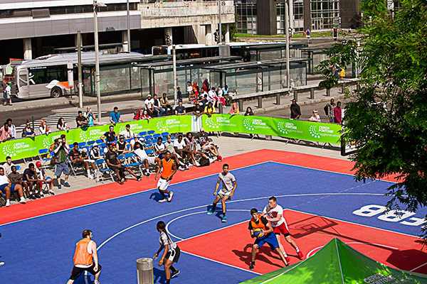 Spartiates, Cergy-Pontoise basketball, basket3x3, folles journées Grand Centre