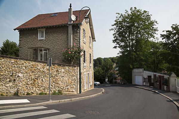 rue Victor Hugo dans la descente